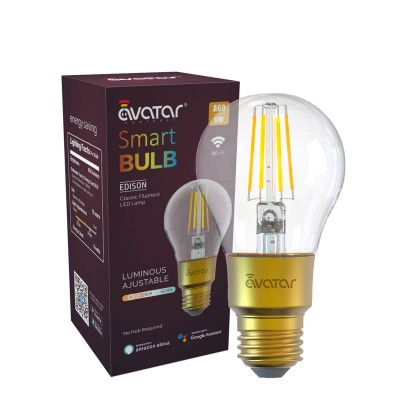 Smart LED Edison Light Bulb 6W